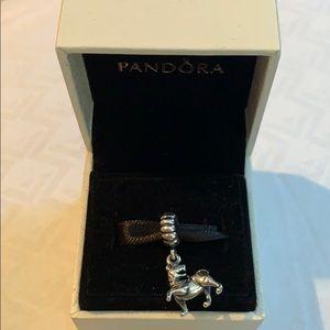 Authentic Pandora Lion Charm